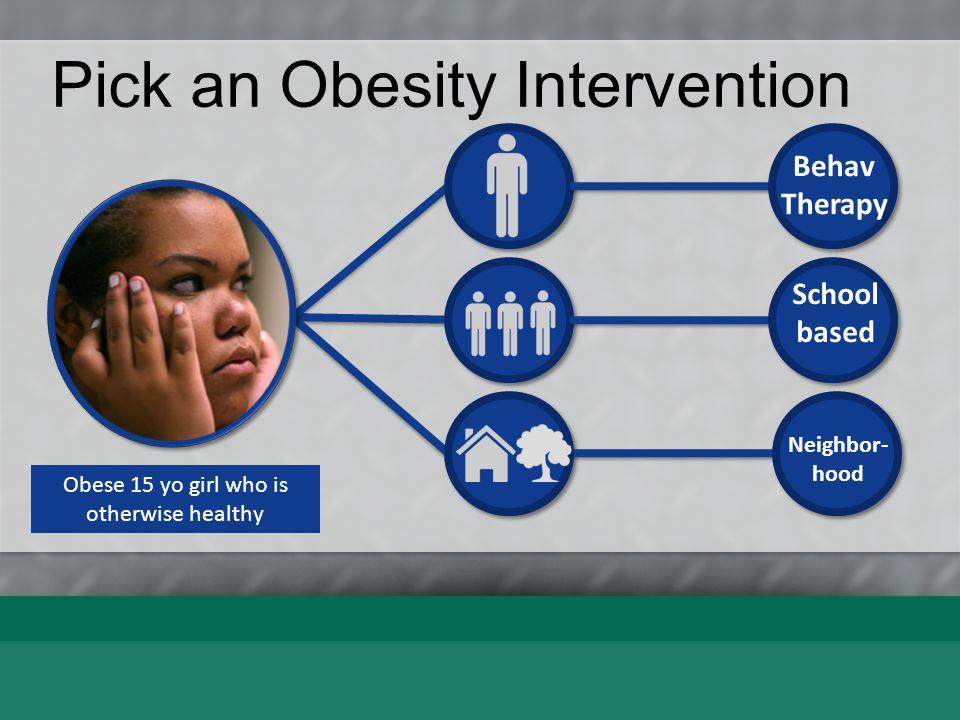 Pick an Obesity Intervention