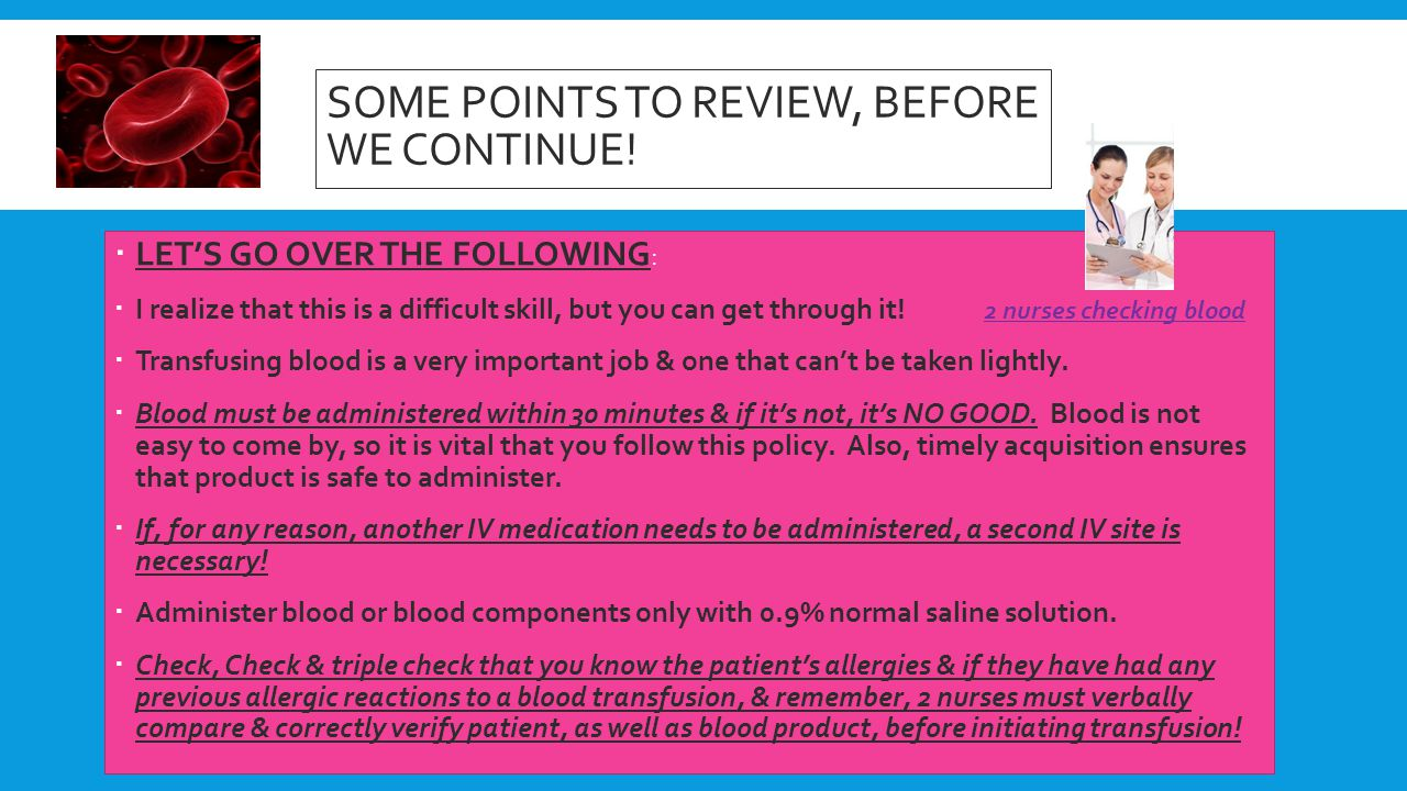 SOME POINTS TO REVIEW, BEFORE WE CONTINUE!