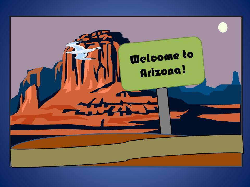 v Welcome to Arizona!