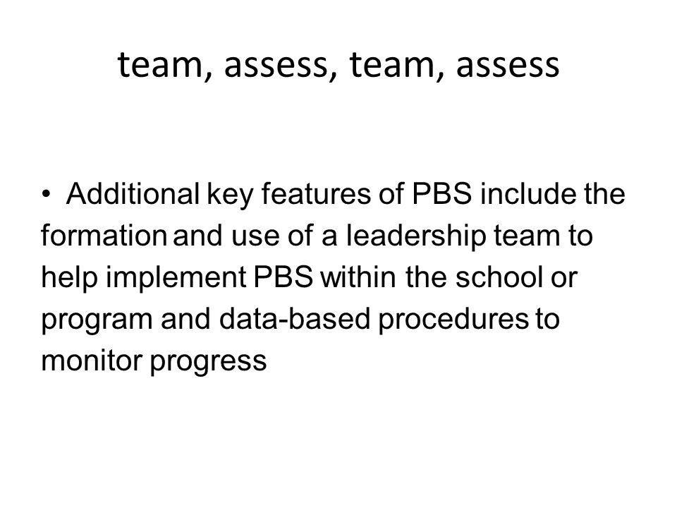 team, assess, team, assess