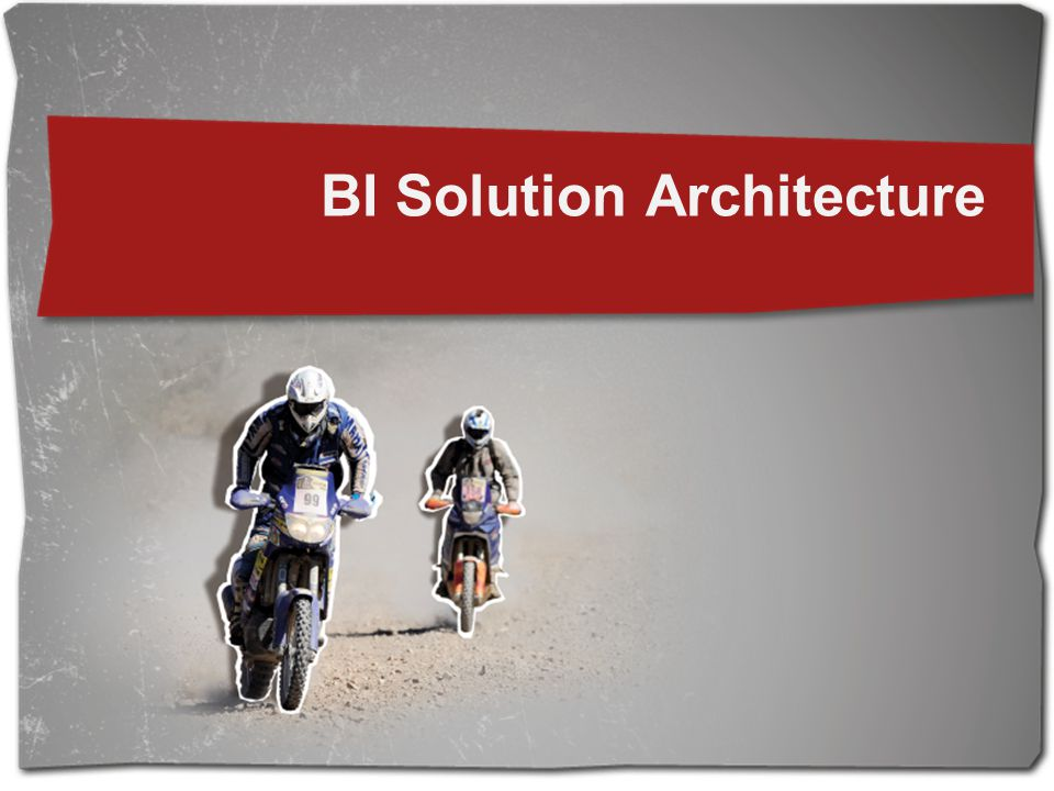 BI Solution Architecture
