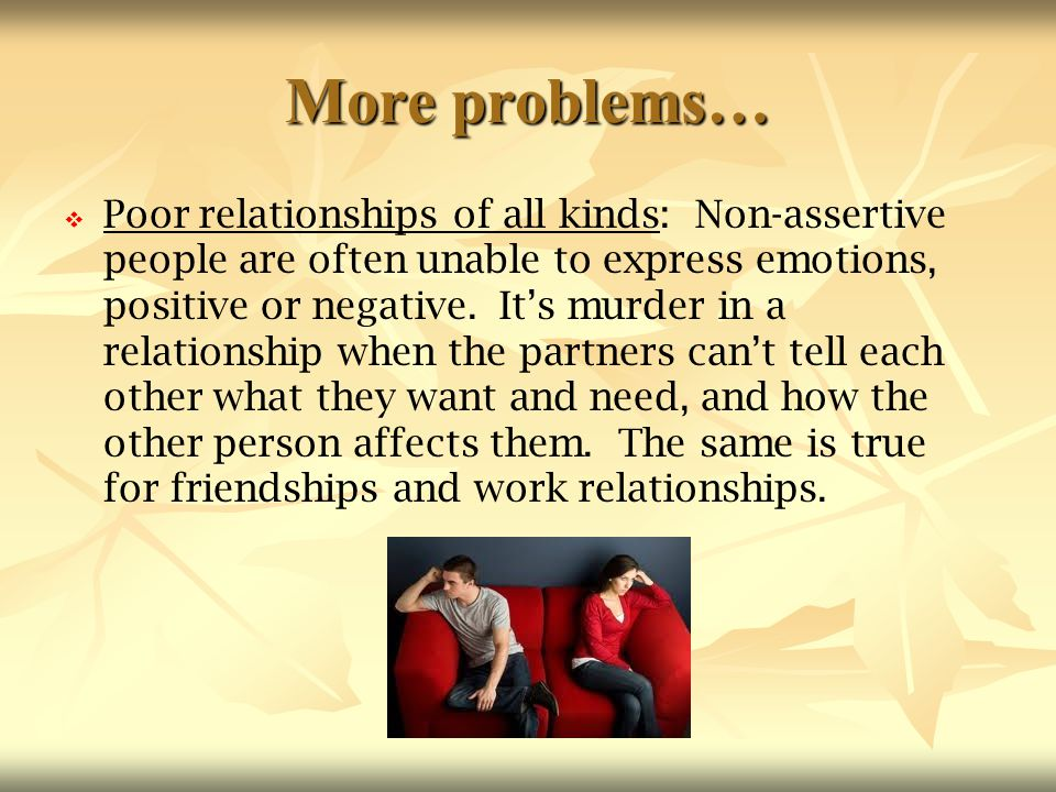 More problems…