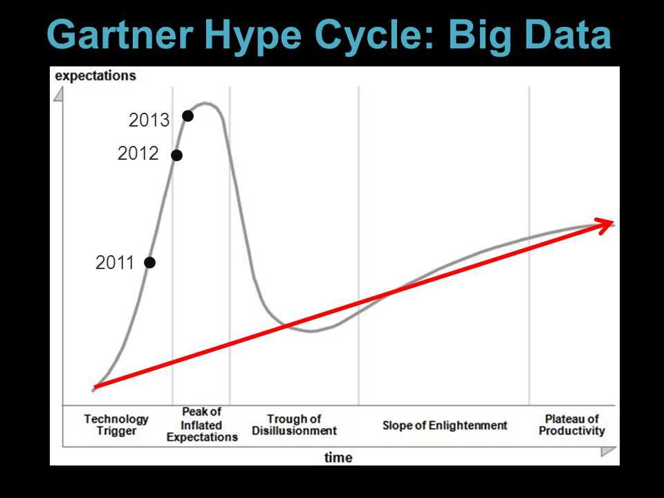 Gartner Hype Cycle: Big Data