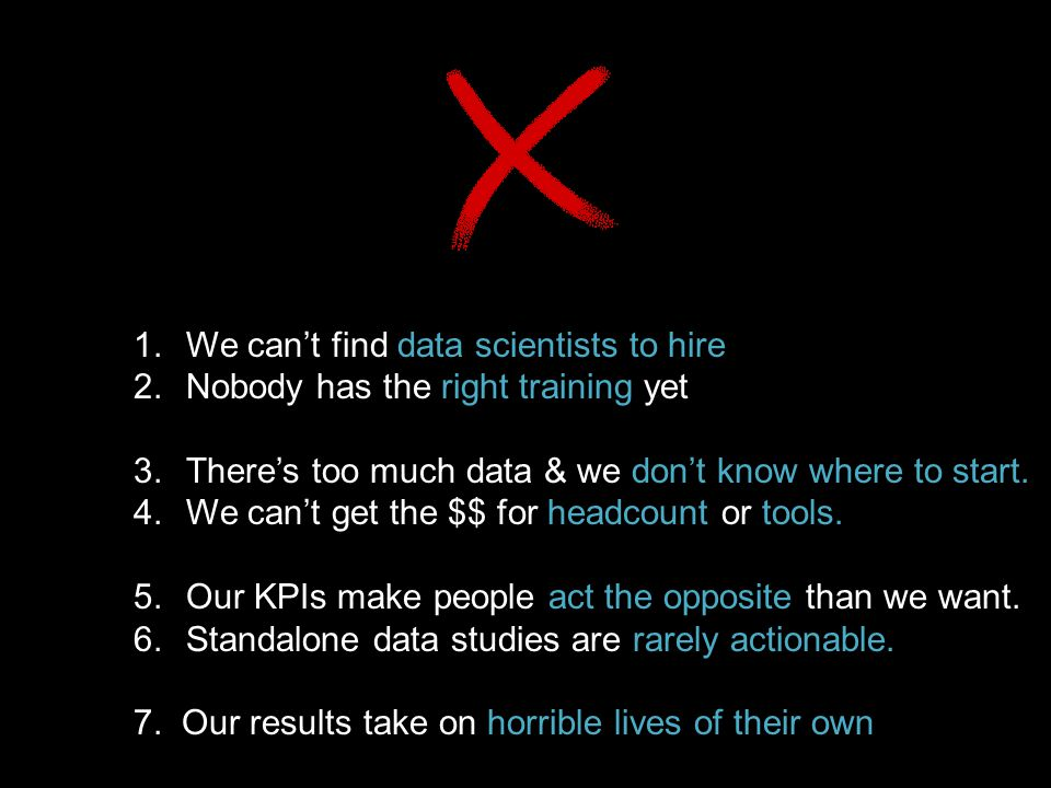 We can't find data scientists to hire