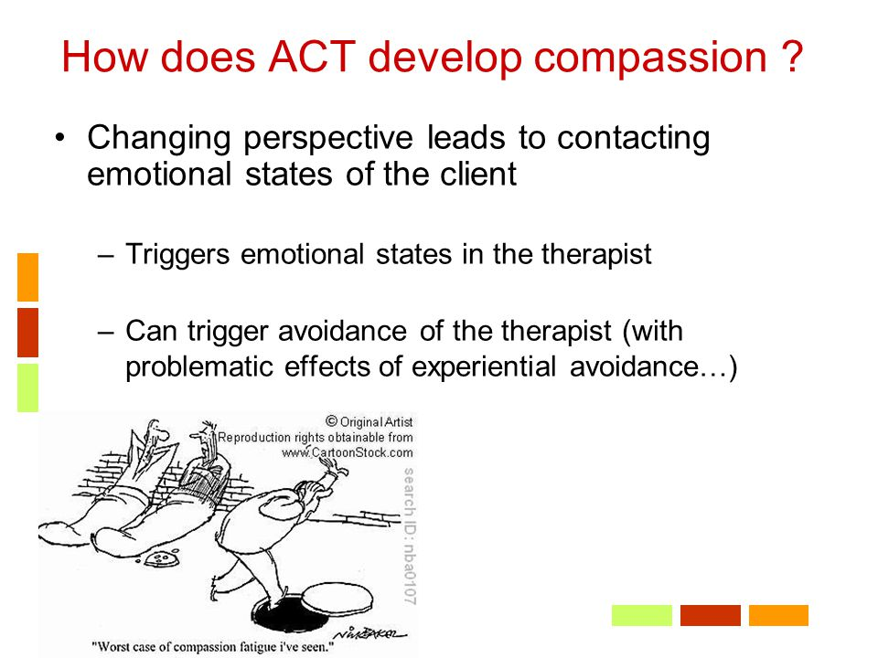 How does ACT develop compassion