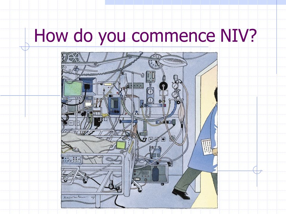 How do you commence NIV