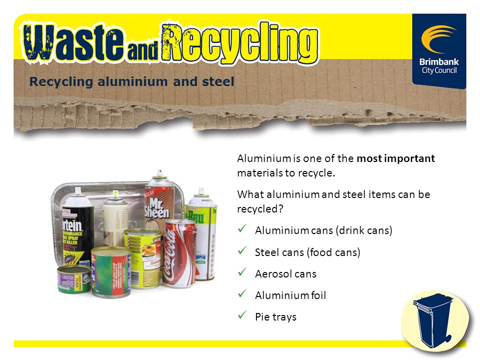 Recycling aluminium and steel