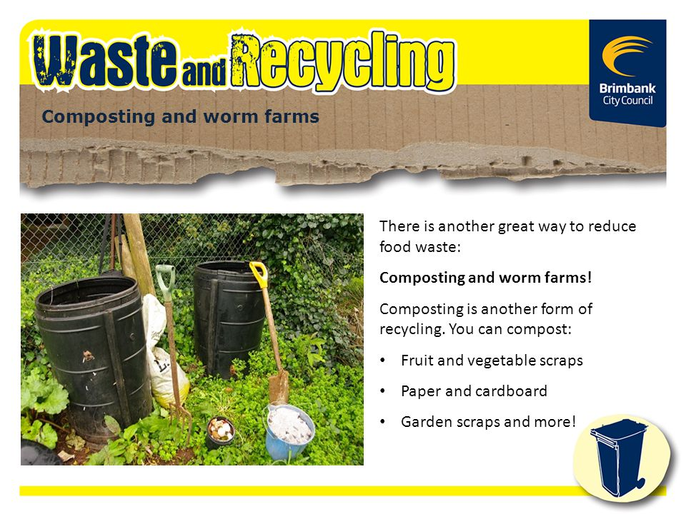 Composting and worm farms