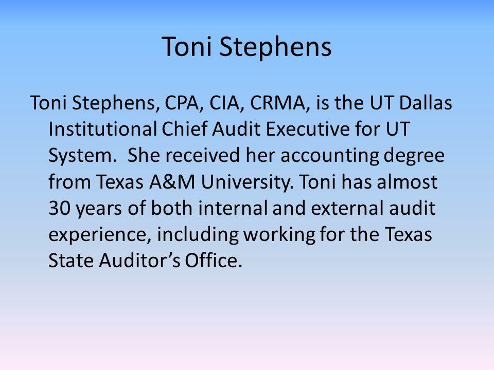 Toni Stephens