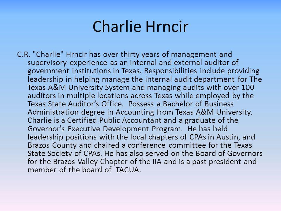 Charlie Hrncir