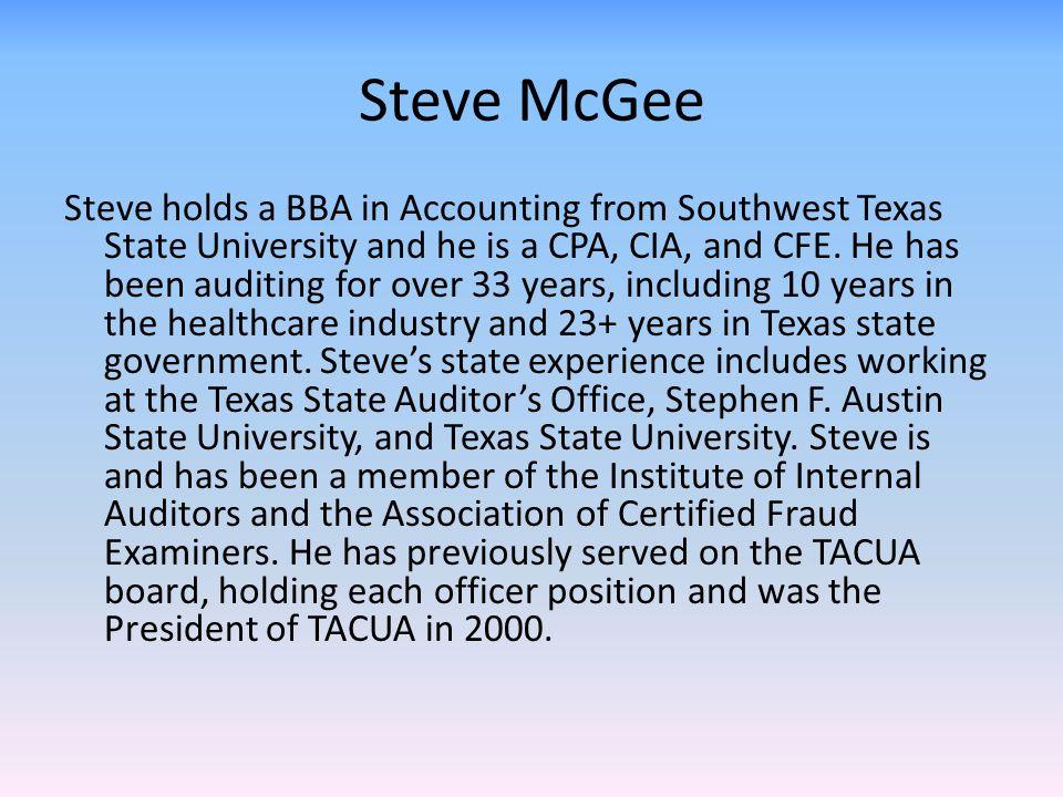 Steve McGee