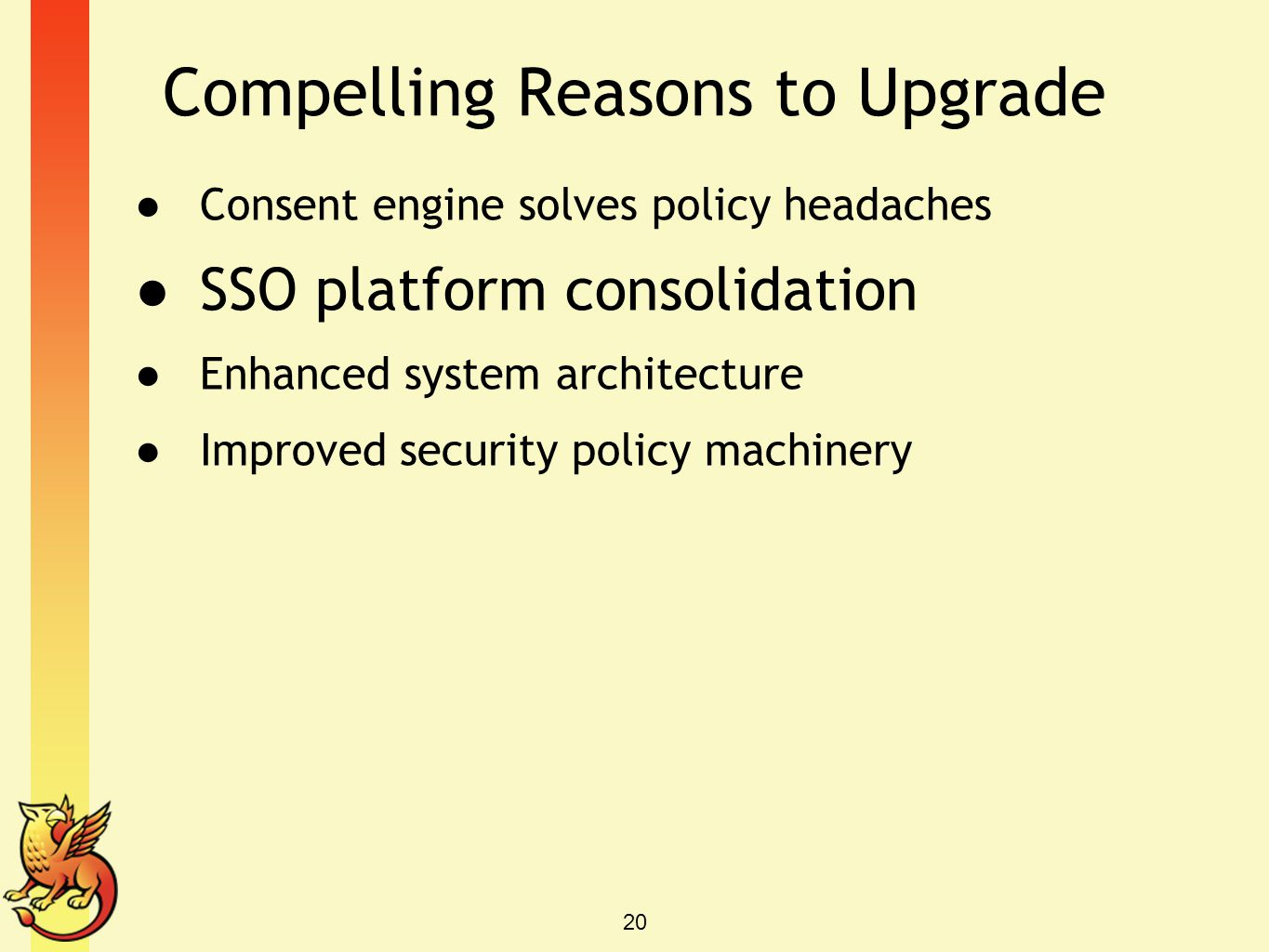 Compelling Reasons to Upgrade