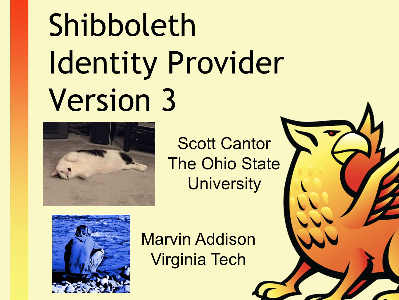 Shibboleth Identity Provider Version 3