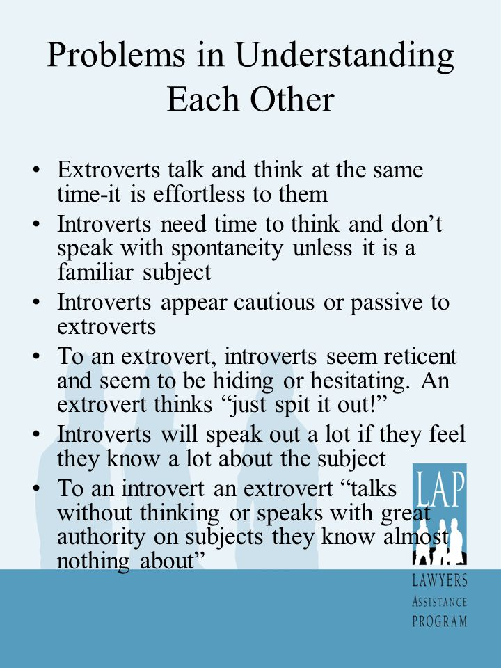 Problems in Understanding Each Other