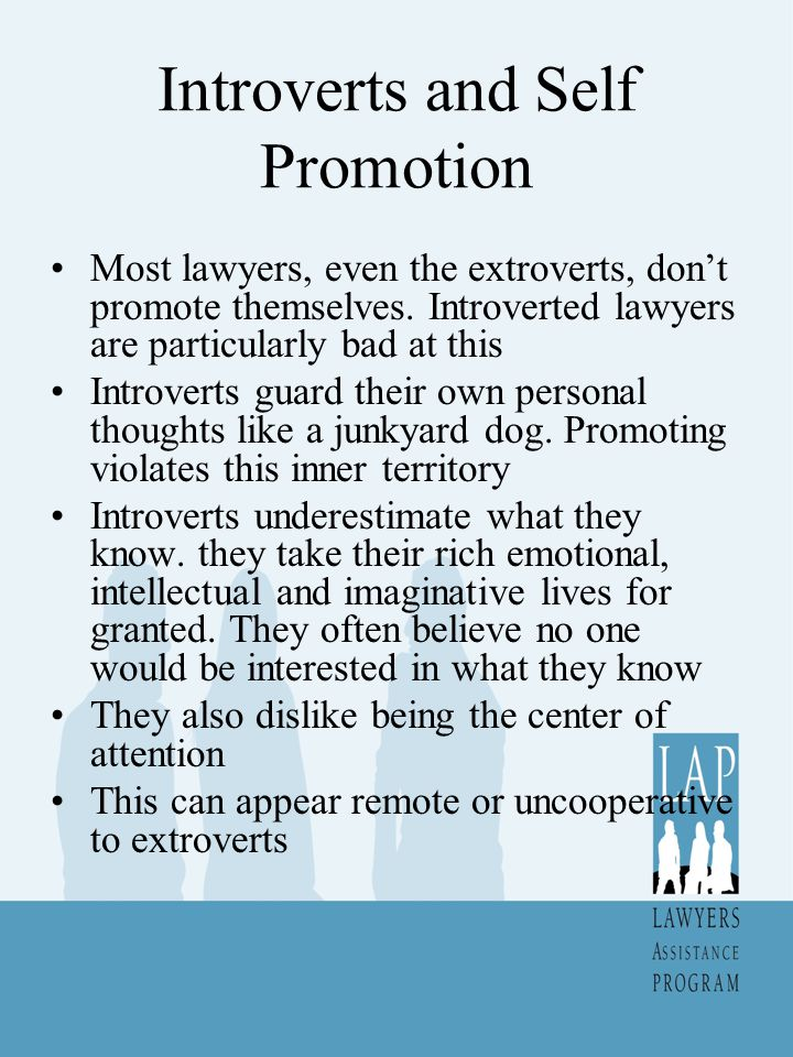 Introverts and Self Promotion