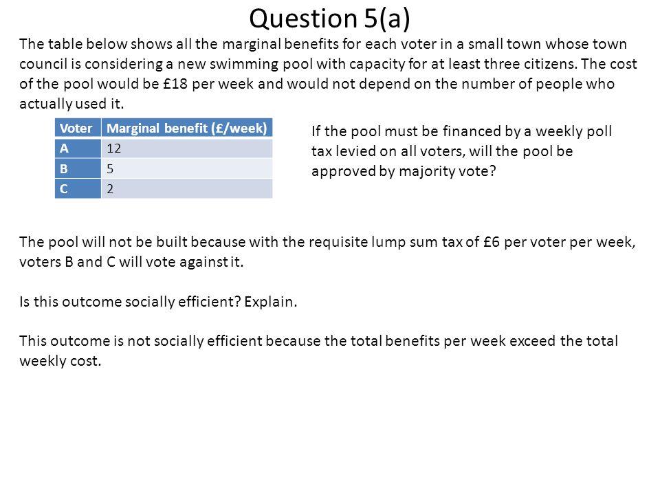 Question 5(a)