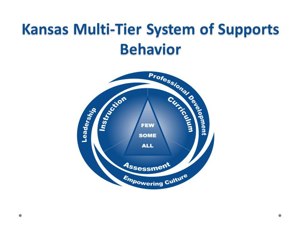 Kansas Multi-Tier System of Supports Behavior