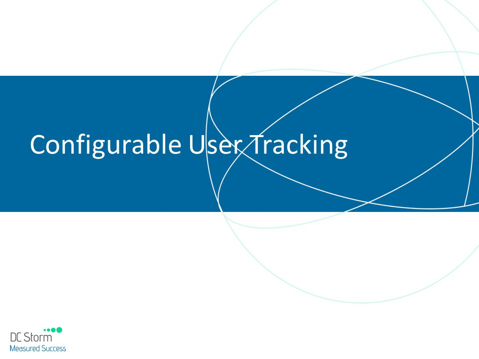 Configurable User Tracking