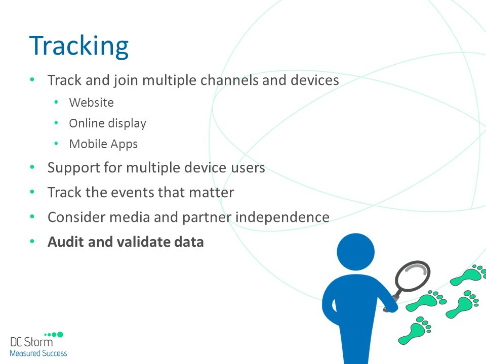 Tracking Track and join multiple channels and devices