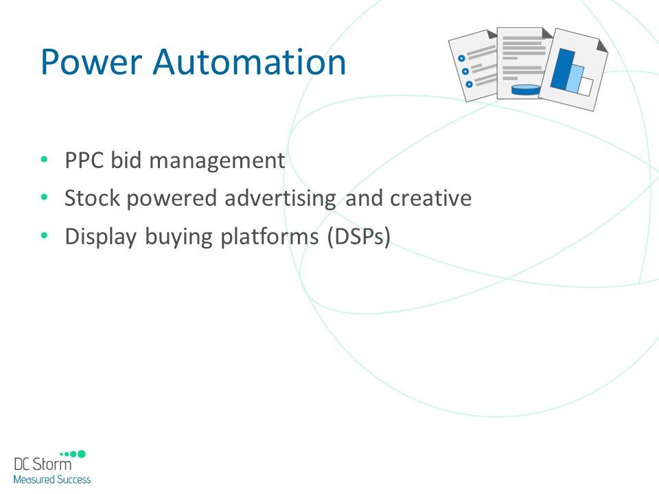 Power Automation PPC bid management