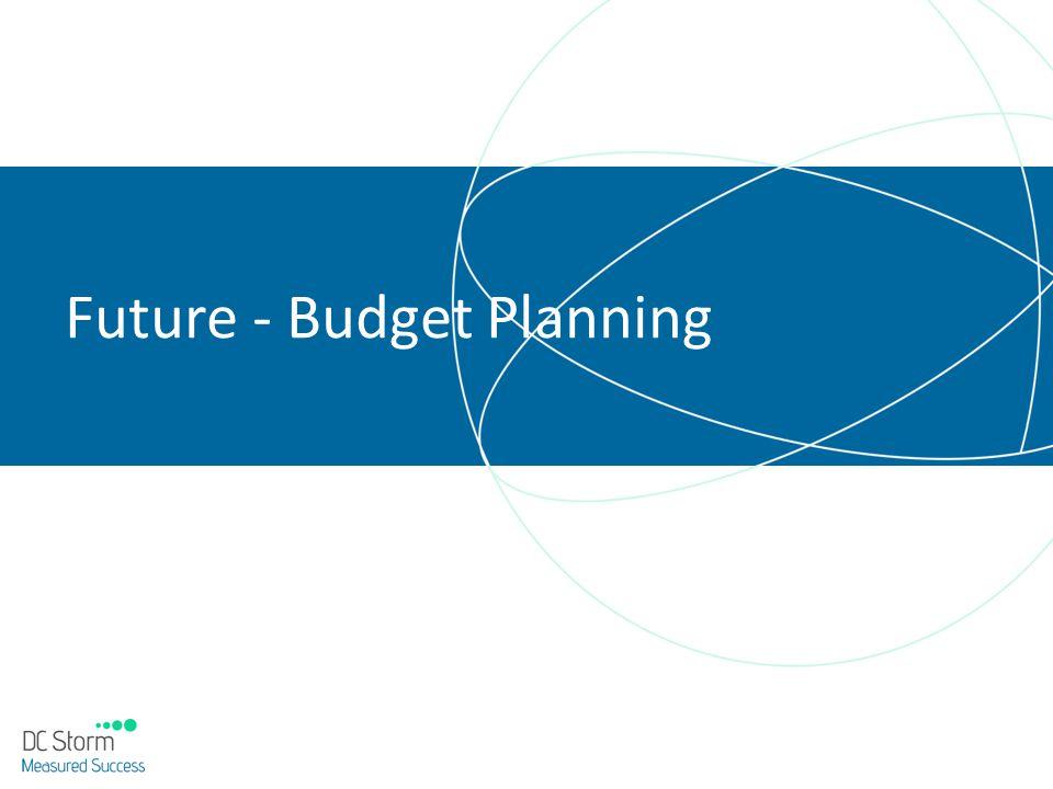 Future - Budget Planning