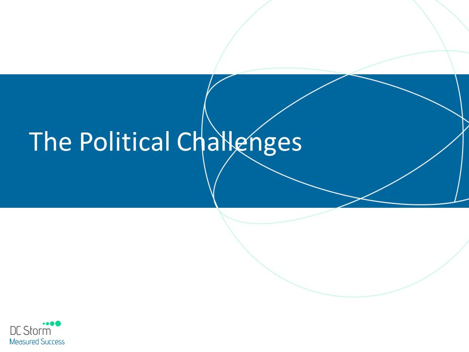 The Political Challenges
