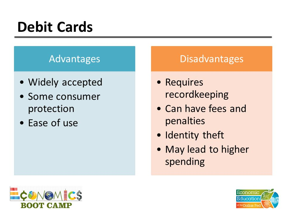 10 occasions NOT to use a debit card