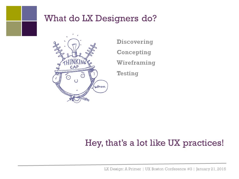 Hey, that's a lot like UX practices!