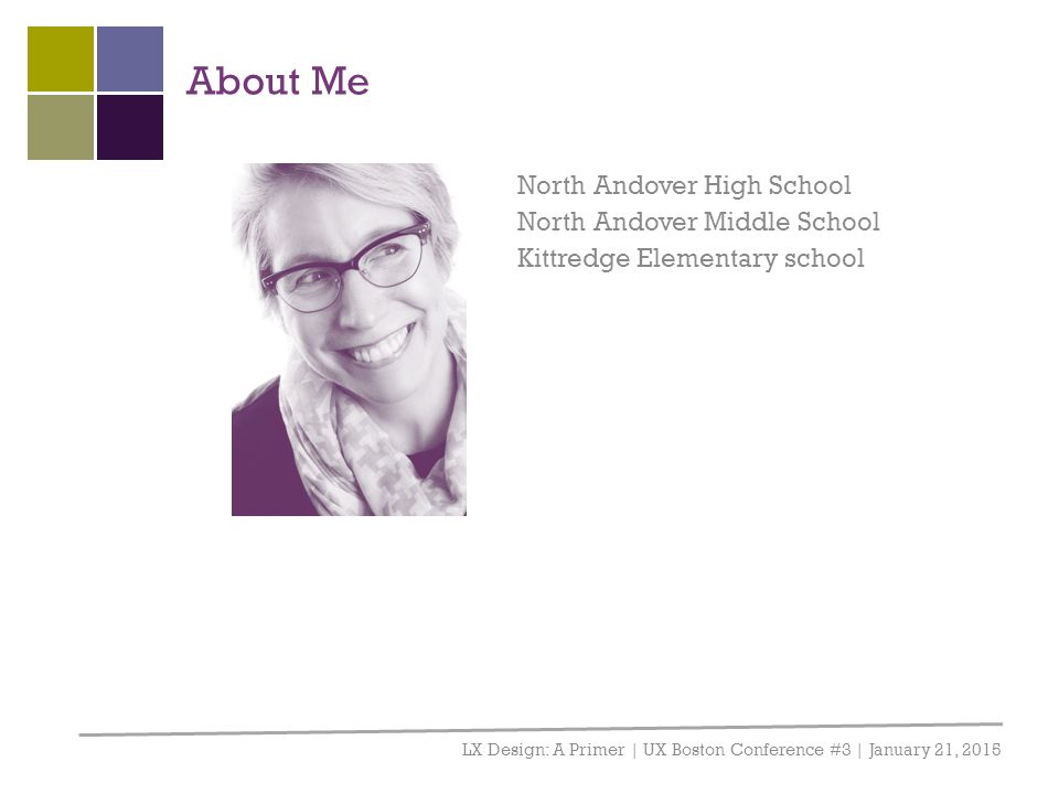 About Me North Andover High School North Andover Middle School