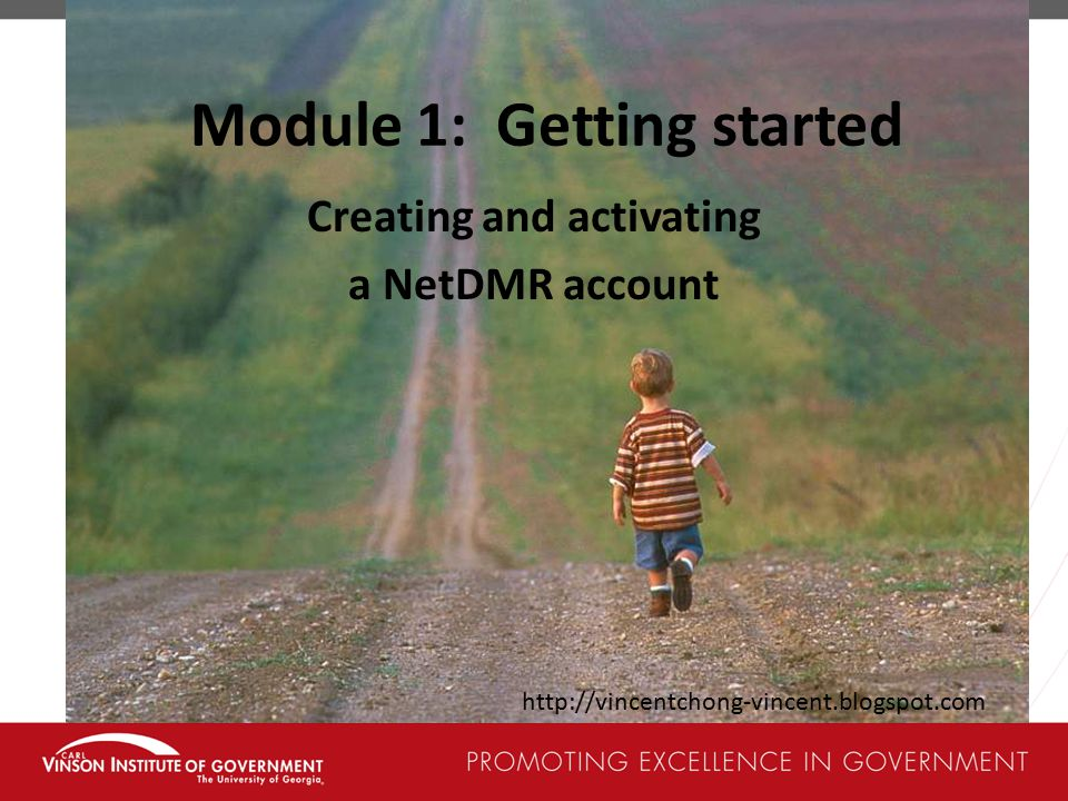 Module 1: Getting started