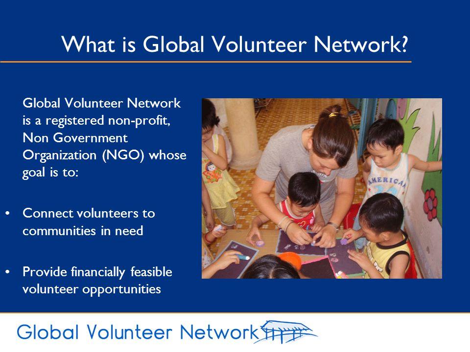 What is Global Volunteer Network