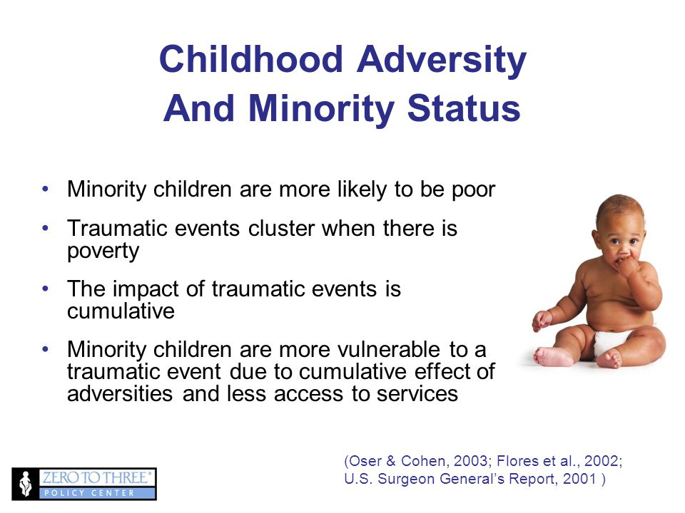 Childhood Adversity And Minority Status