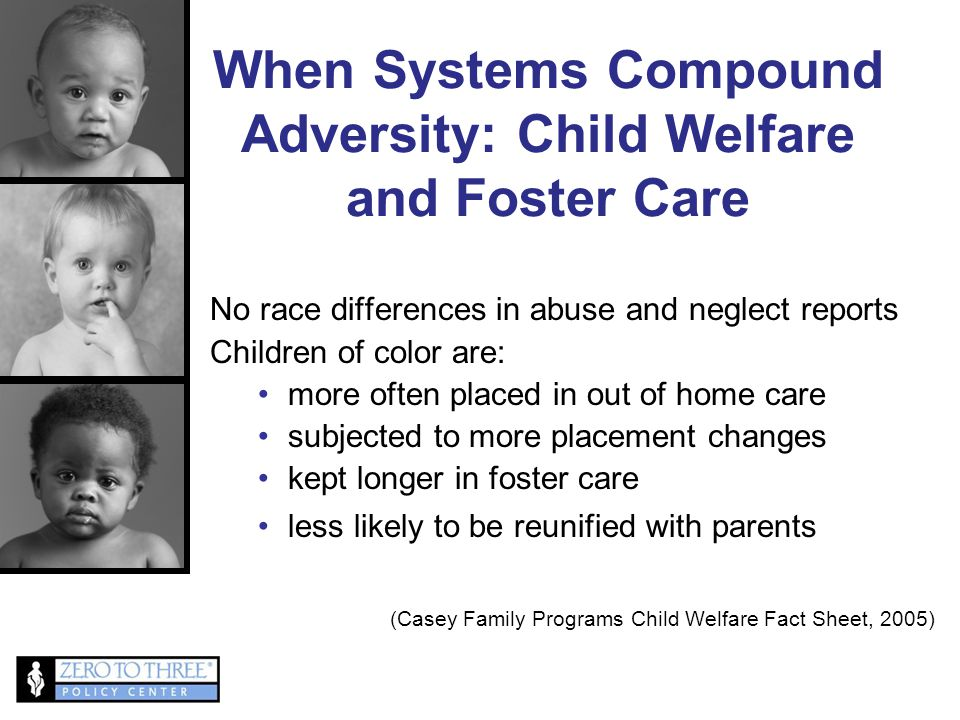 When Systems Compound Adversity: Child Welfare and Foster Care