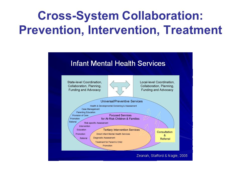 Cross-System Collaboration: Prevention, Intervention, Treatment