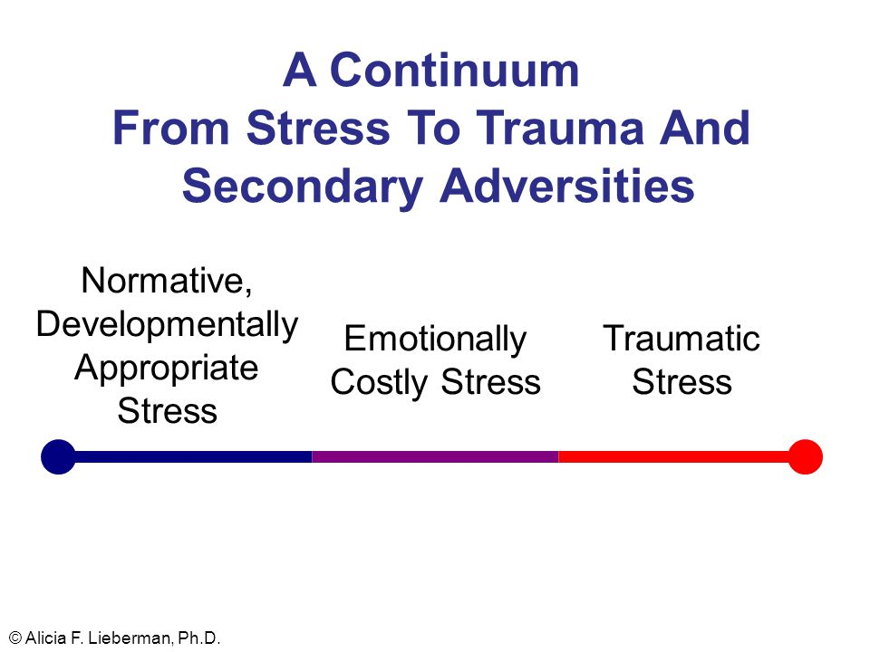 Normative, Developmentally Appropriate Stress