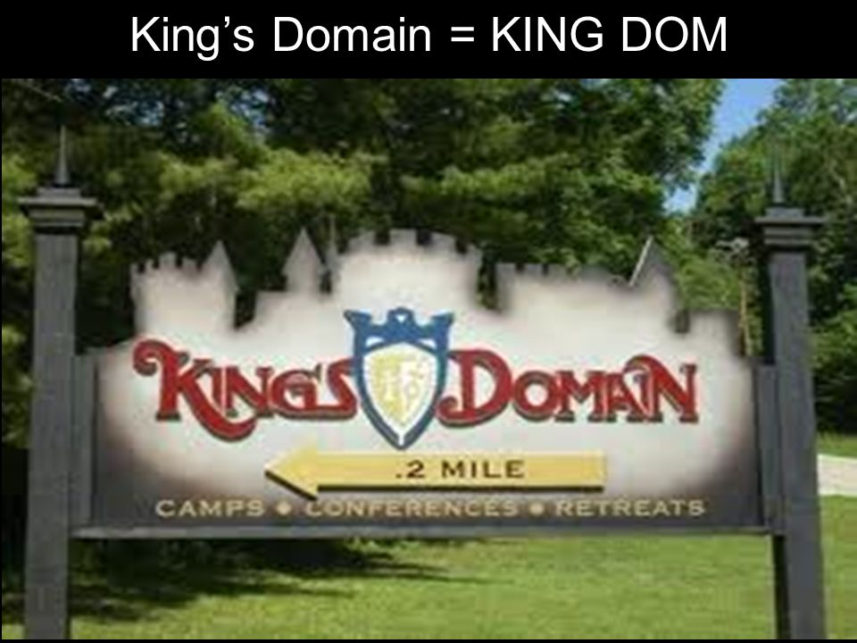 King's Domain = KING DOM
