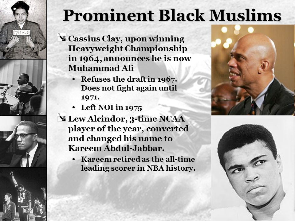 Prominent Black Muslims