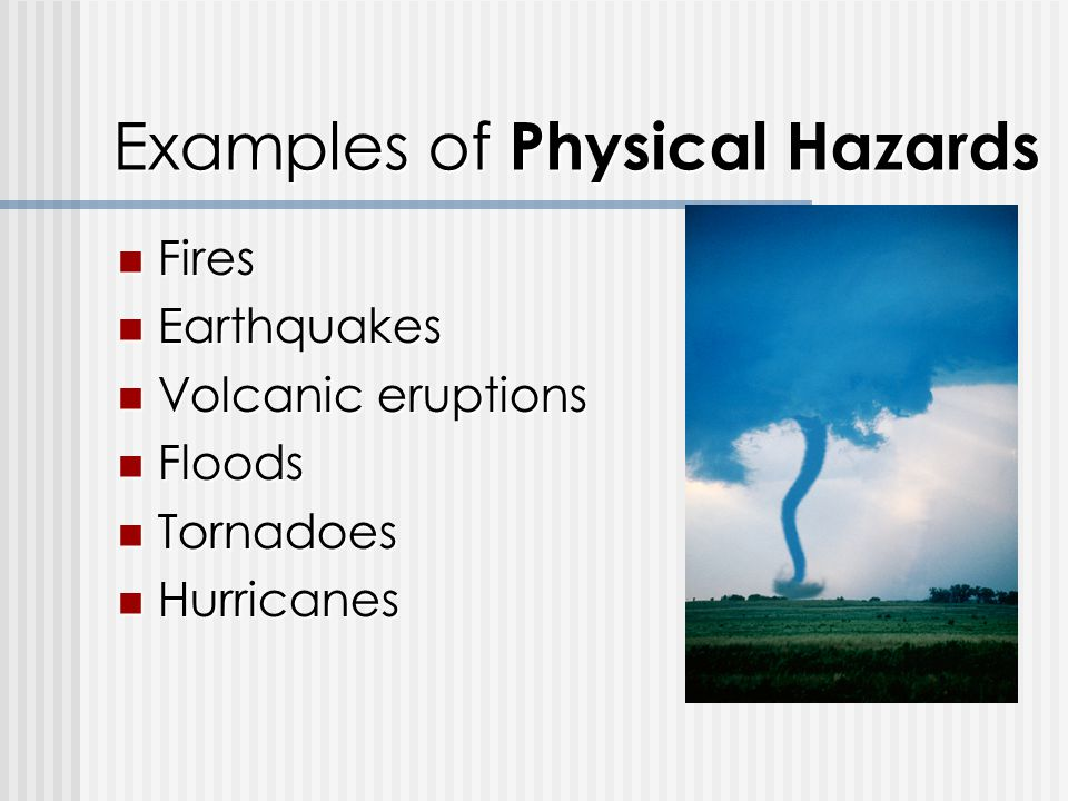 Volcanic Hazard Depend Primarily on Physical Factors?