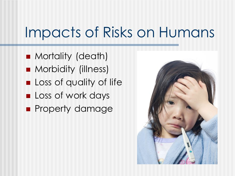 Impacts of Risks on Humans