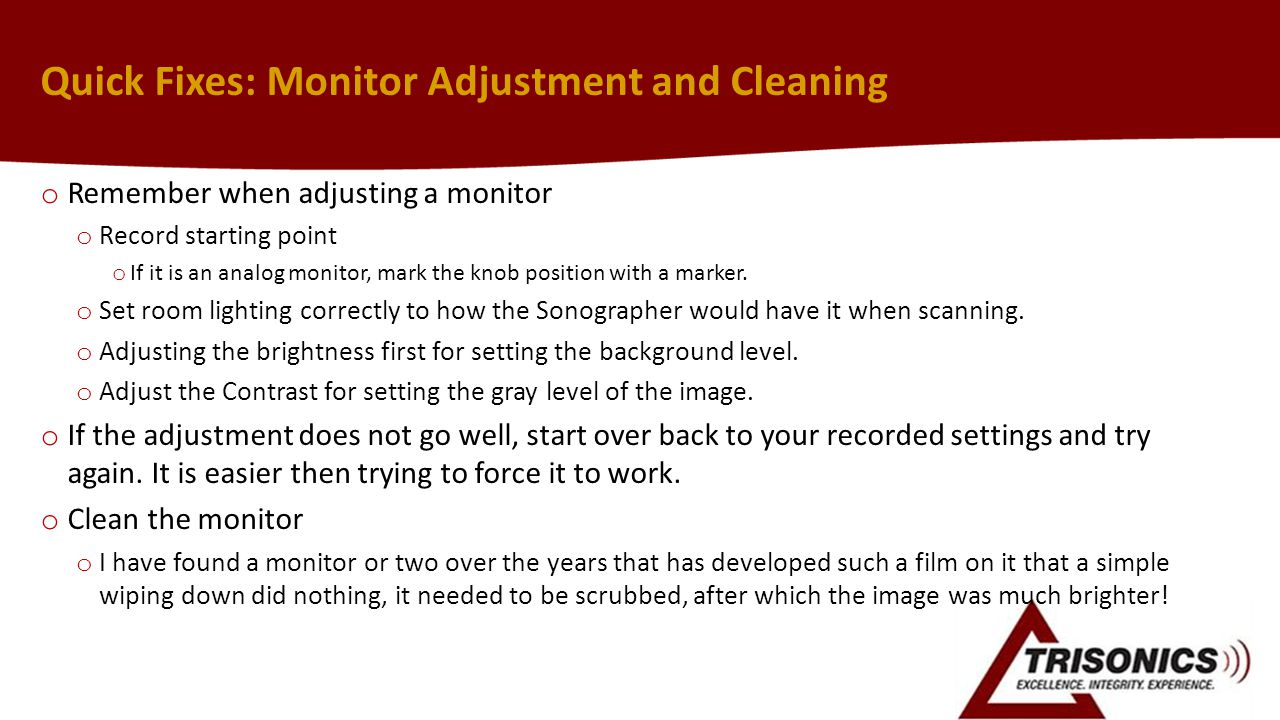 Quick Fixes: Monitor Adjustment and Cleaning