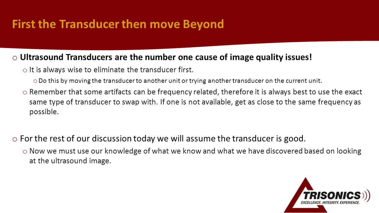 First the Transducer then move Beyond