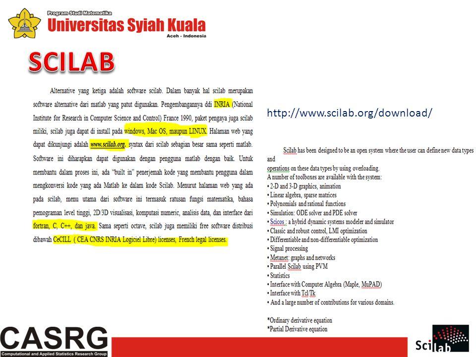 SCILAB http://www.scilab.org/download/
