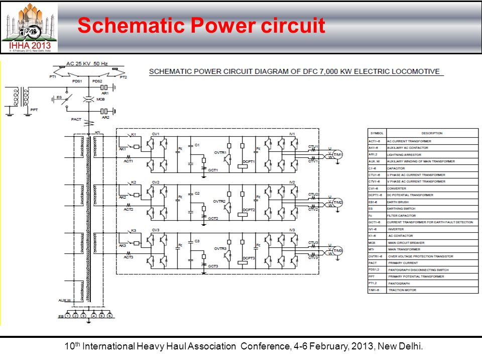 Schematic Power circuit