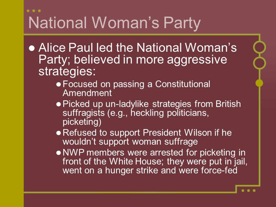 National Woman's Party