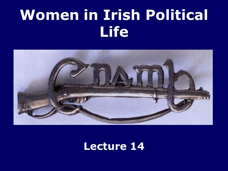 Women in Irish Political Life