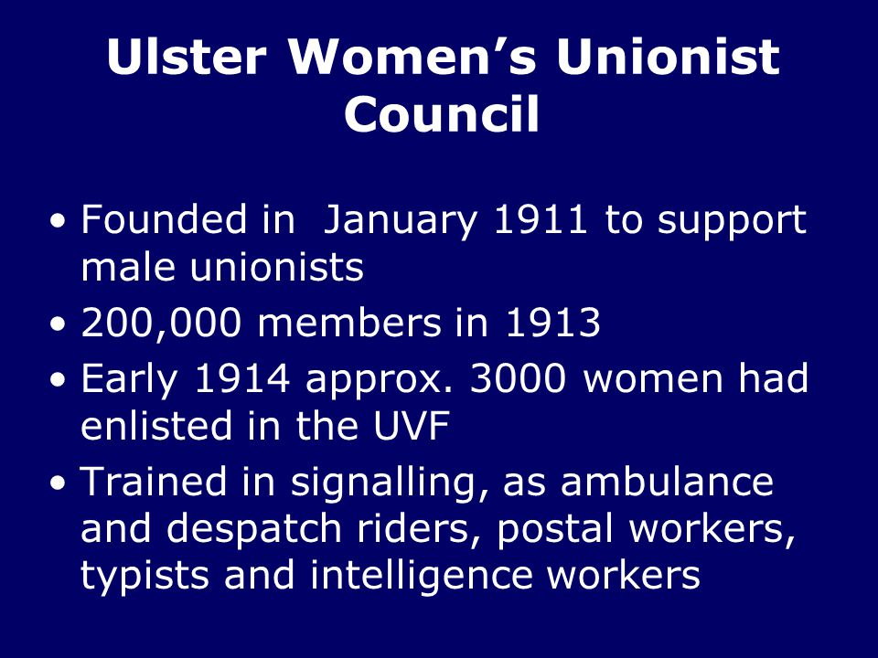 Ulster Women's Unionist Council