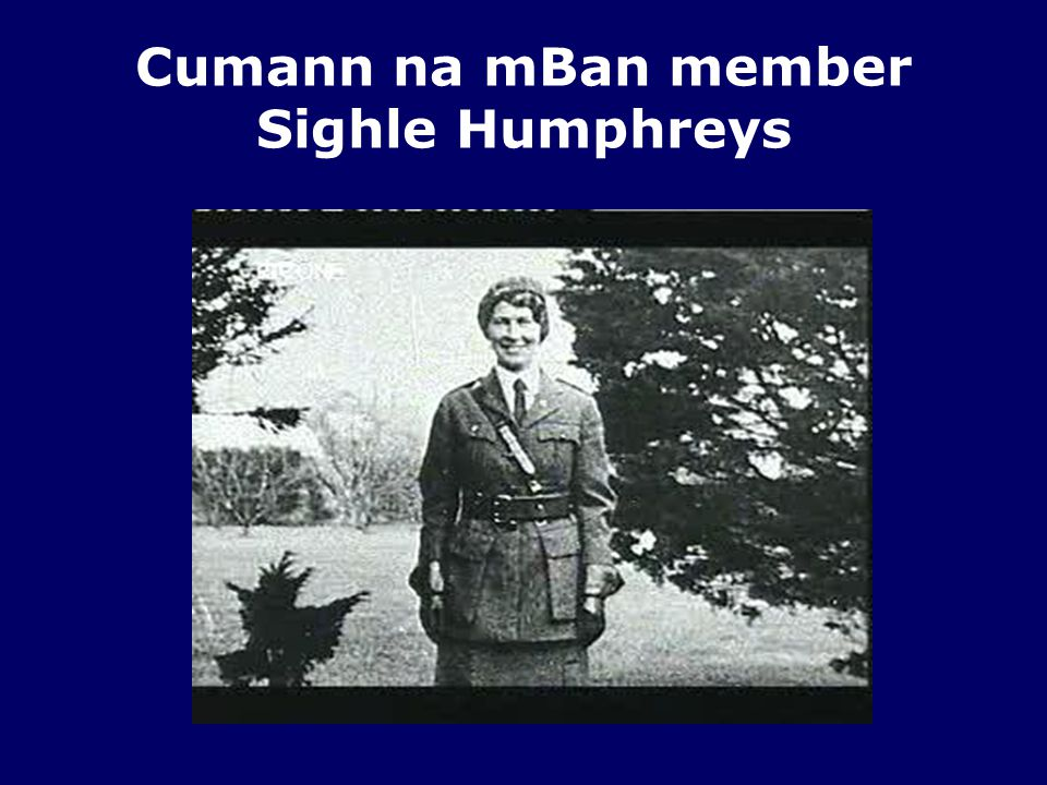 Cumann na mBan member Sighle Humphreys