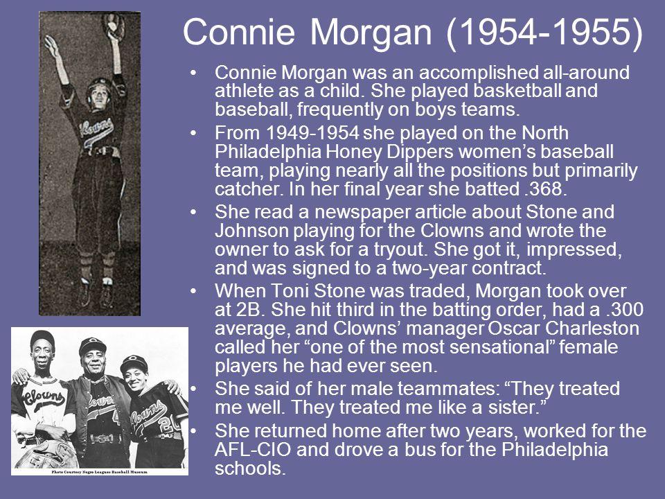 Connie Morgan (1954-1955)