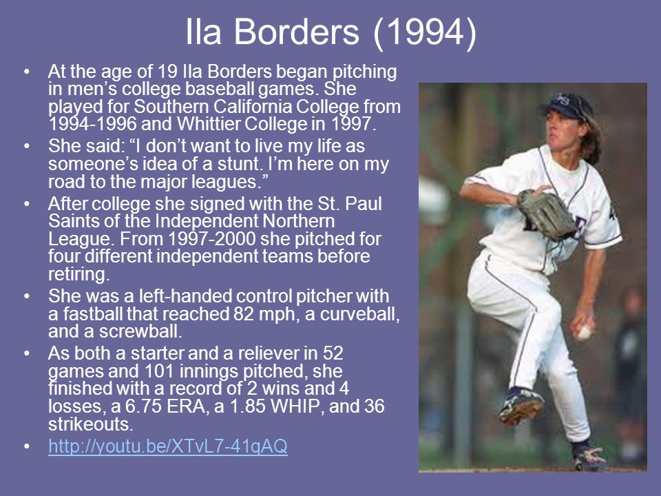 Ila Borders (1994)
