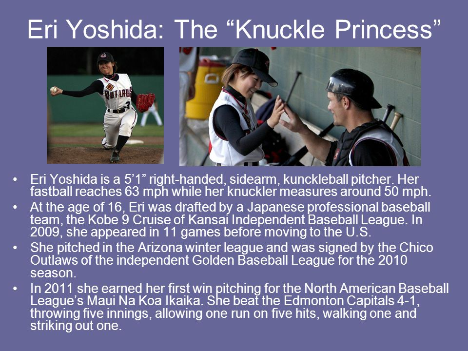 Eri Yoshida: The Knuckle Princess